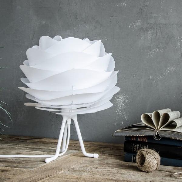 Półleżący trójnożny stojak na lampę VITA biały