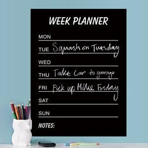 Naklejka dekoracyjna Calendario Week