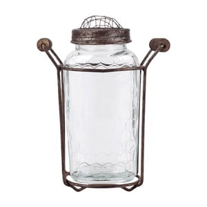 Szklany wazon No2