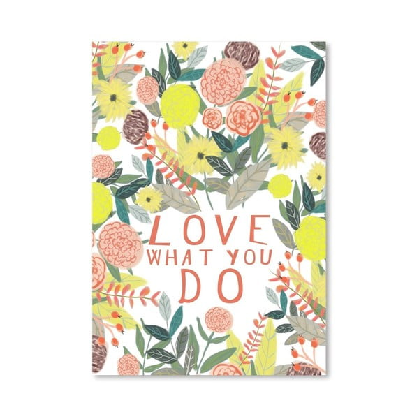 Plakat (projekt: Mia Charro) - Flowers II