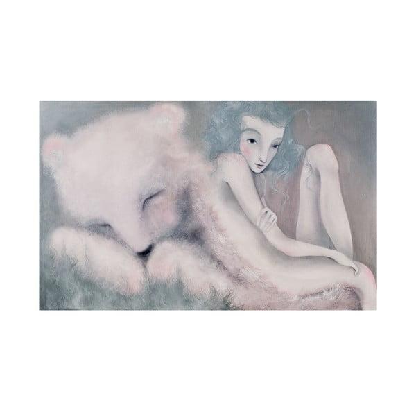 Autorski plakat Lény Brauner Sen o niedźwiedziu, 60x90 cm