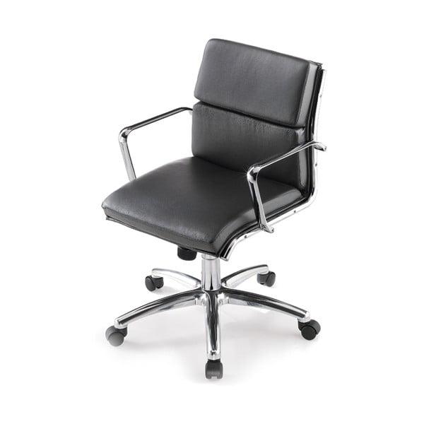 Krzesło biurowe na kółkach Chrono Zago, czarne