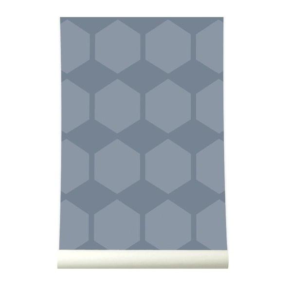 Tapeta Hexagrow Grey/Blue