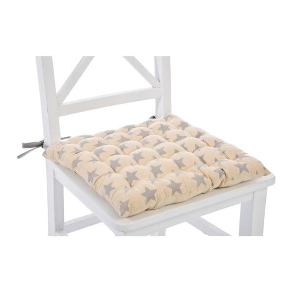 Poduszka na krzesło Stars Cott, 40x40 cm