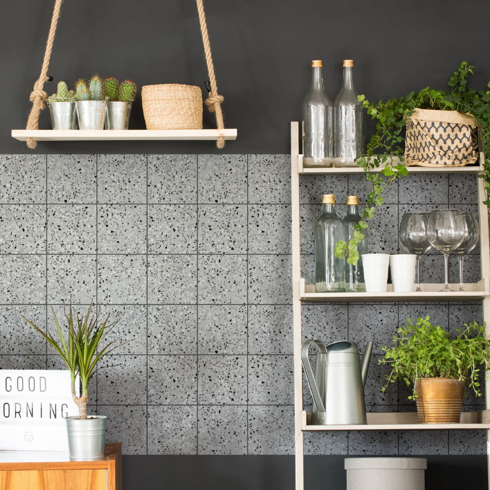 zestaw 60 naklejek terrazo bonami. Black Bedroom Furniture Sets. Home Design Ideas