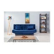 Niebieska sofa rozkładana Ersi