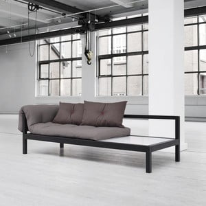 Sofa wielofunkcyjna Karup Soul Black/Gris/Light Bordequx