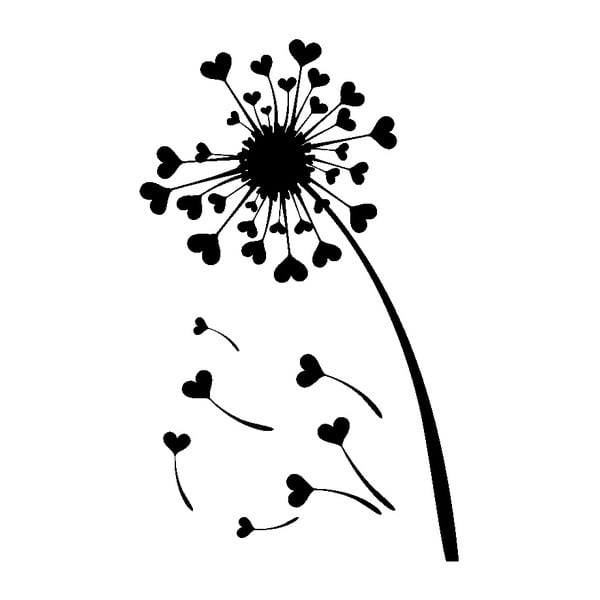 Naklejka Ambiance Hearts Dandelion