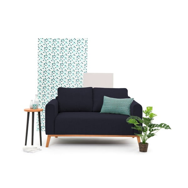 Granatowa sofa dwuosobowa VIVONITA Milton