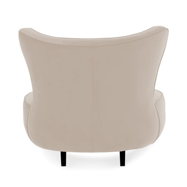 Jasnoszary fotel Vivonita Douglas Love Seat