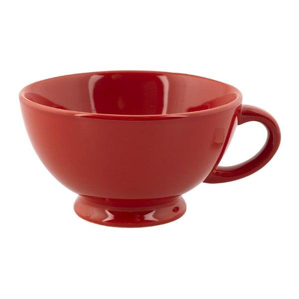 Kubek Jumbo Cappuccino, czerwony