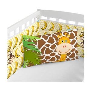 Ochraniacz do łóżeczka Little W Jungle, 60x60 cm