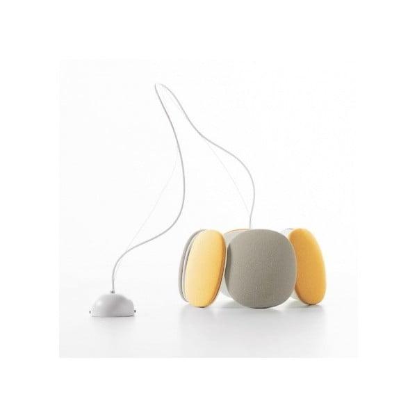 Lampa sufitowa Bloemi Goose Beak, pomarańczowy/ beżowy, 40 cm