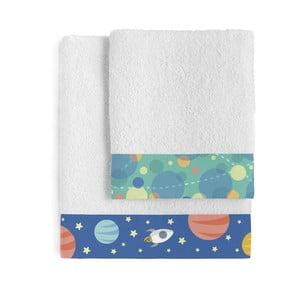 Zestaw 2 ręczników Happynois Astronaut