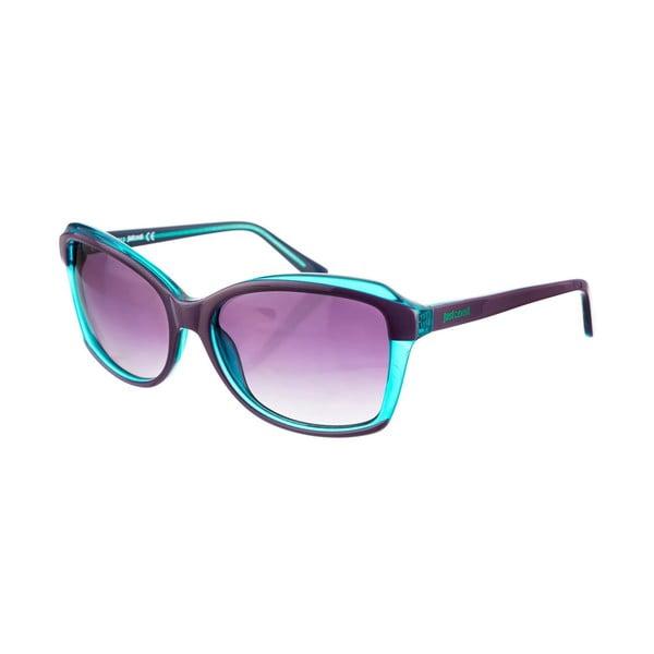 Damskie okulary przeciwsłoneczne Just Cavalli Crystal Green