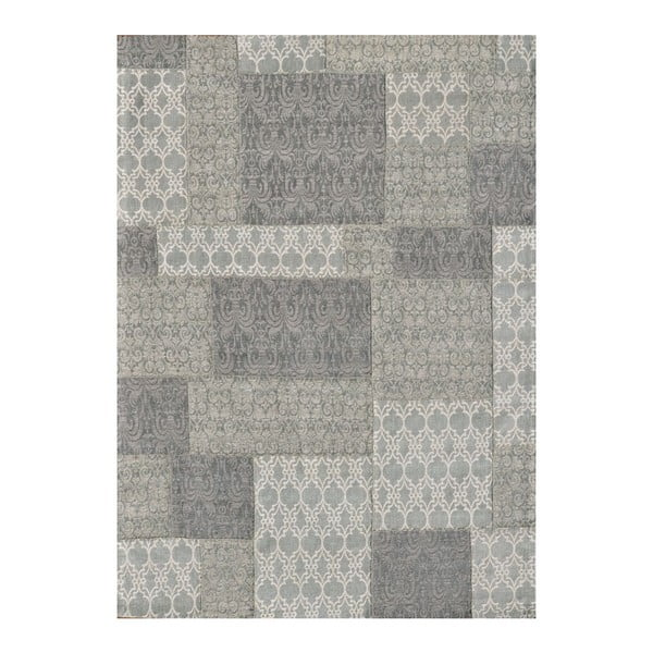 Dywan Patchwork 2 Light Grey,75x150 cm