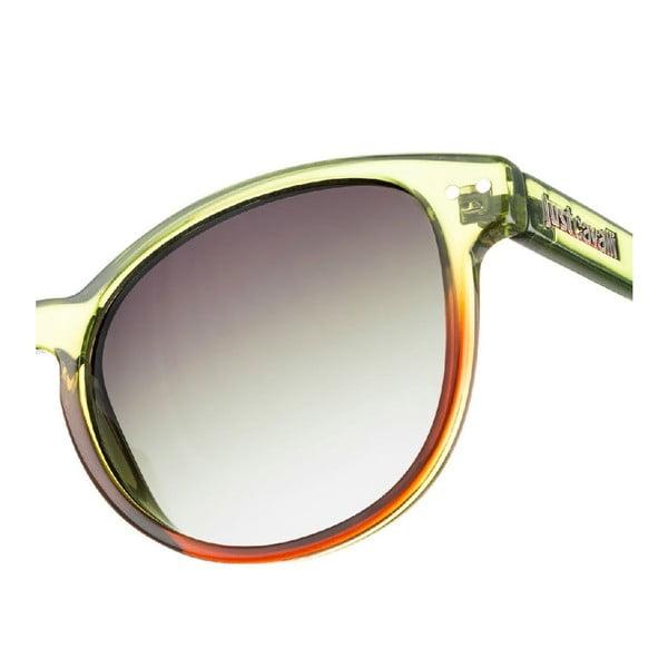 Damskie okulary przeciwsłoneczne Just Cavalli Green