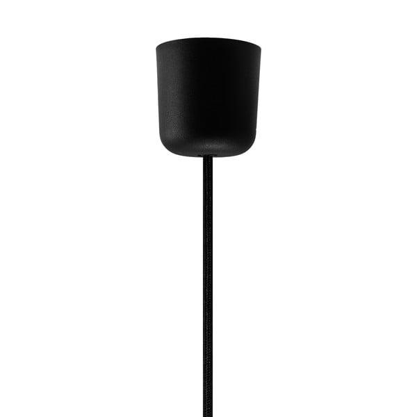 Czarno-srebrna lampa wisząca Bulb Attack Tres, ⌀ 50cm
