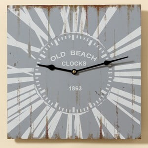 Zegar Old Beach, 34 cm