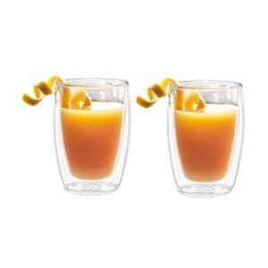 Zestaw 2 szklanek z podwójną ścianką Bredemeijer Juice, 270 ml
