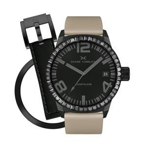 Zegarek damski Marc Coblen z dodatkowym paskiem i obręczą P114