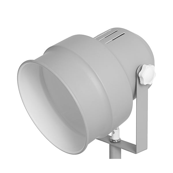 Szara lampa stojąca Leitmotiv Studio