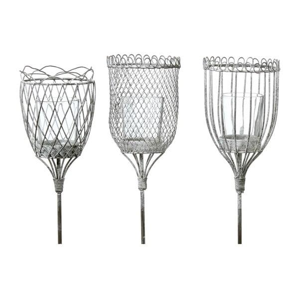 Zestaw 3 ogrodowych lampionów Boltze Light