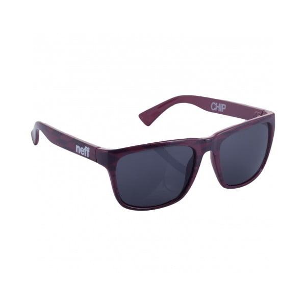 Okulary przeciwsłoneczne Neff Chip Maroon