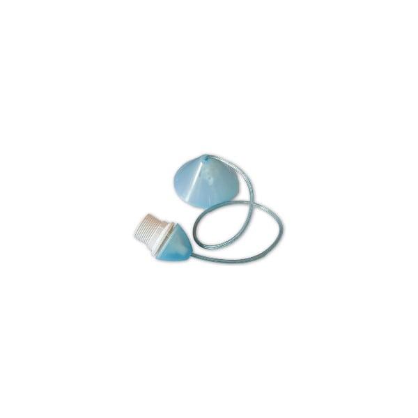 Kabel do abażuru Beweglicht, niebieski, 80 cm