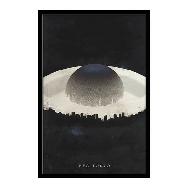Plakat Neo Tokyo, 35x30 cm