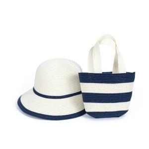 Komplet kapelusza i torby plażowej Art of Polo Zebra