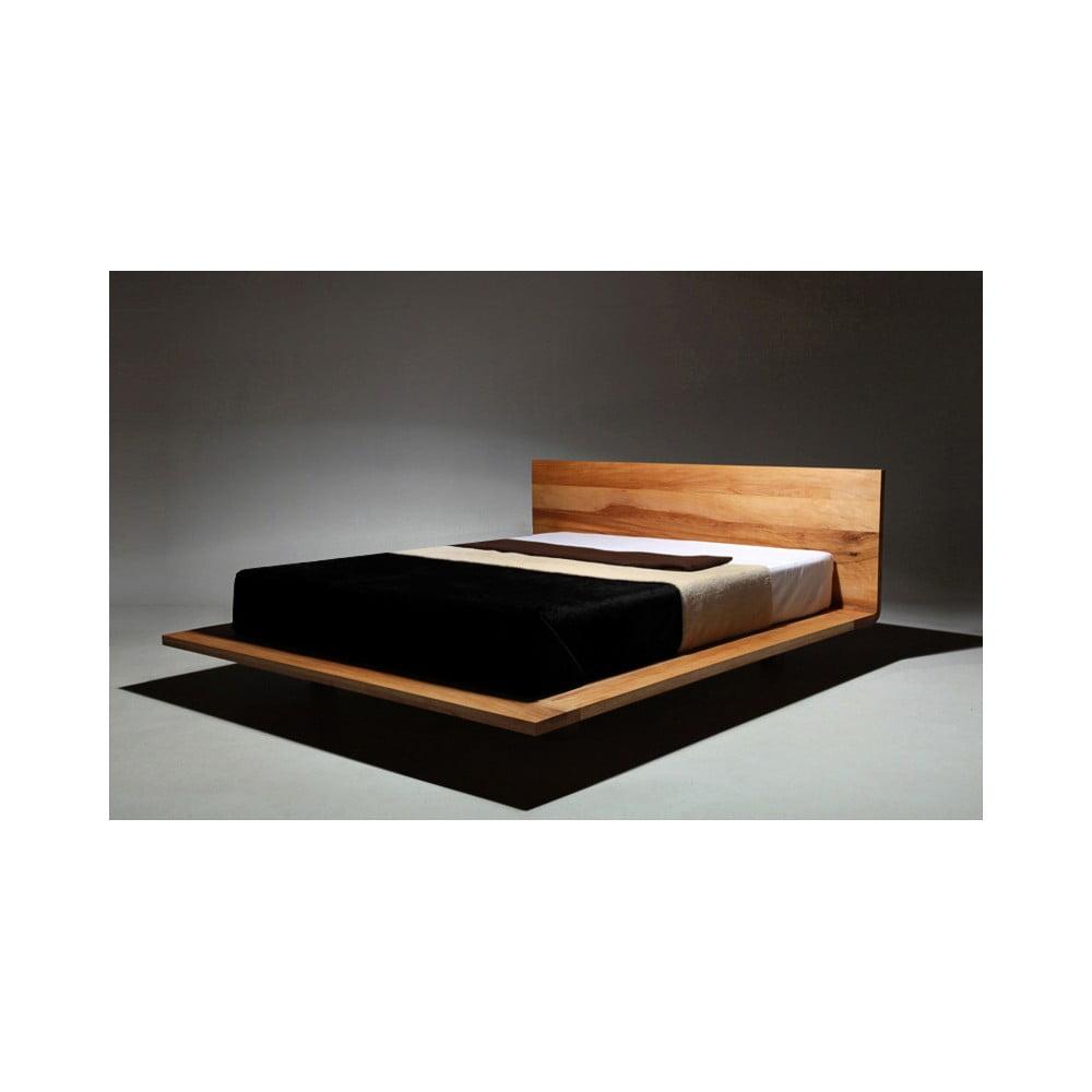 łóżko Z Drewna Olchy Pokrytego Olejem Mazzivo Mood 200x220 Cm Bonami
