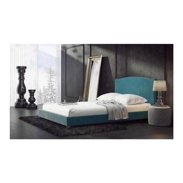 Łóżko Valencia Blue, 180x200 cm