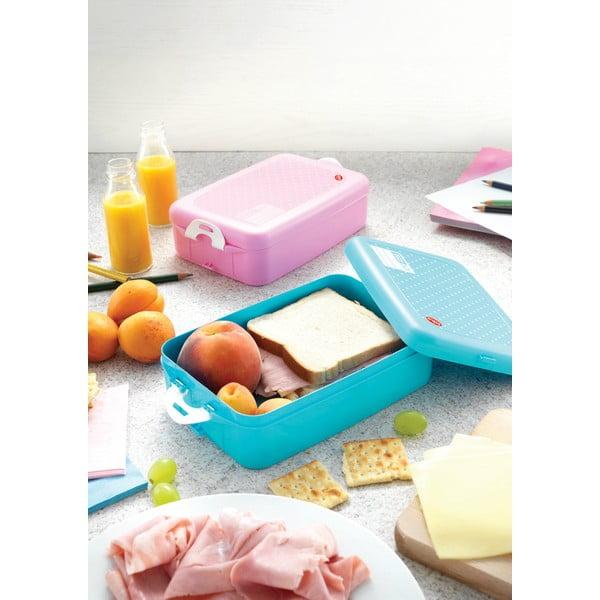 Pojemnik śniadaniowy Snips Snack Pink