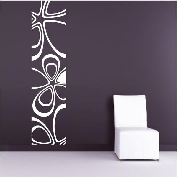 Naklejka ścienna Pas Floral, biel