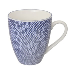Porcelanowy kubek Nippon Blue Squares