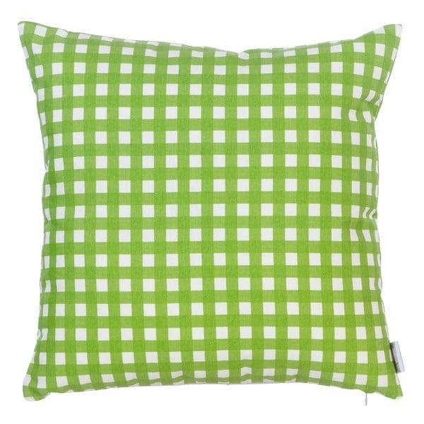 Poduszka z wypełnieniem Green Check