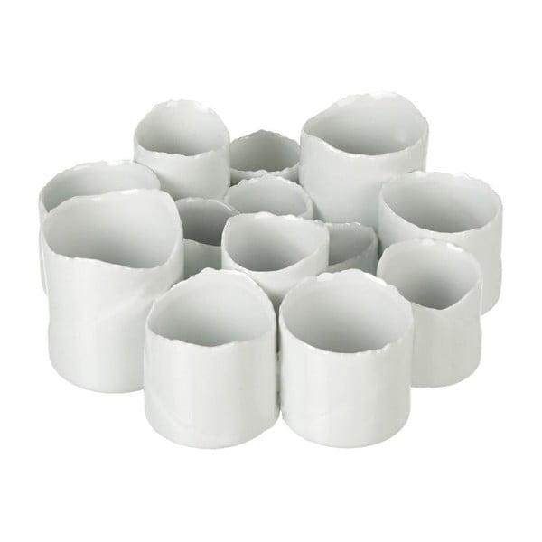 Świecznik Medley White