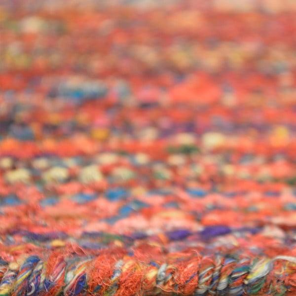 Ręcznie tkany dywan Sari Silk Red, 120x180 cm