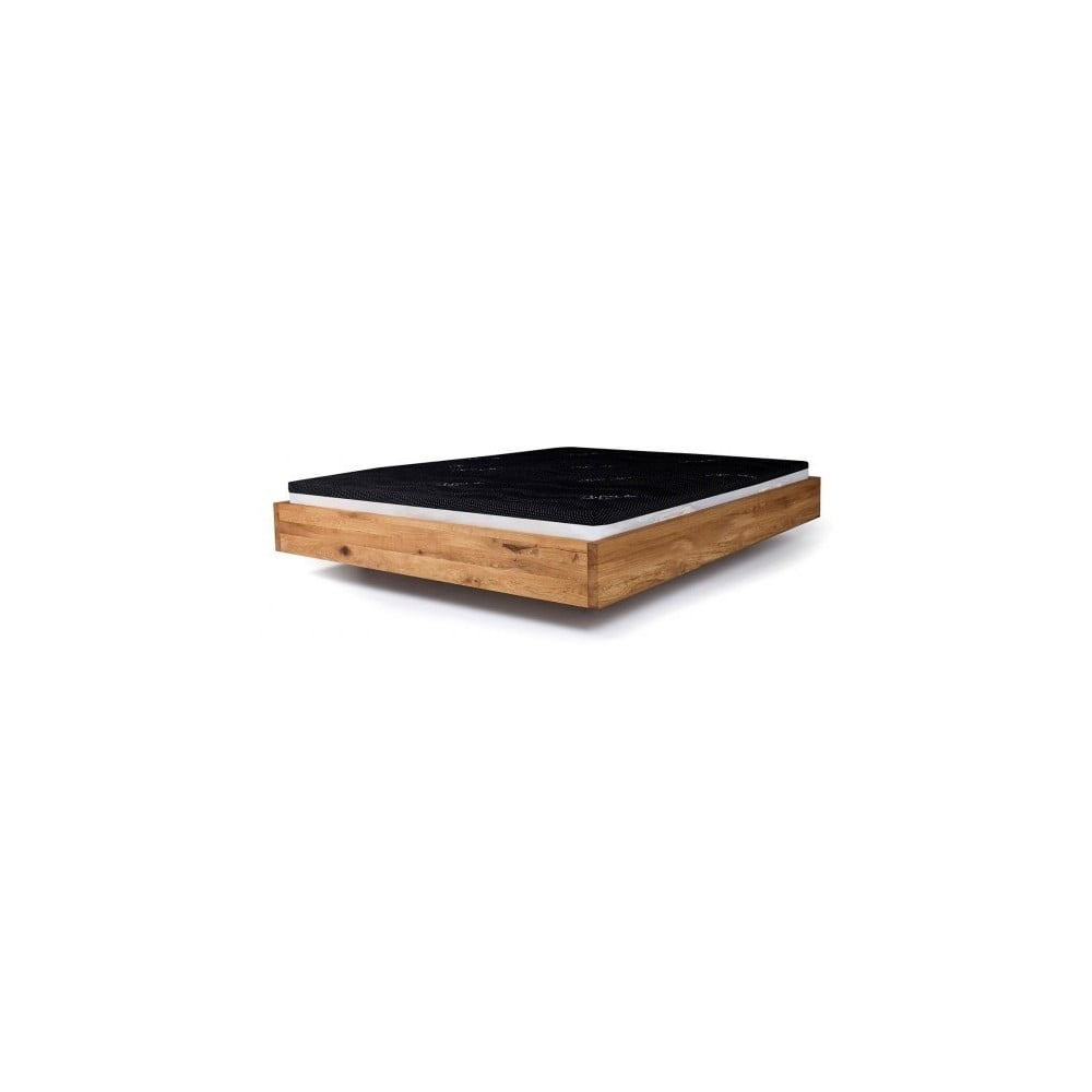 łóżko Z Drewna Olchy Pokrytego Olejem Mazzivo Pool 200x220 Cm Bonami