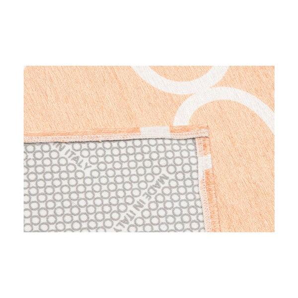Wytrzymały dywan kuchenny Webtapetti Trellis Apricot, 60x220 cm