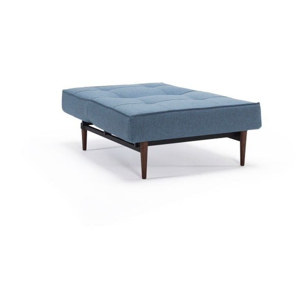 Jasnoniebieski rozkładany fotel Innovation Splitback Mixed Dance Light Blue