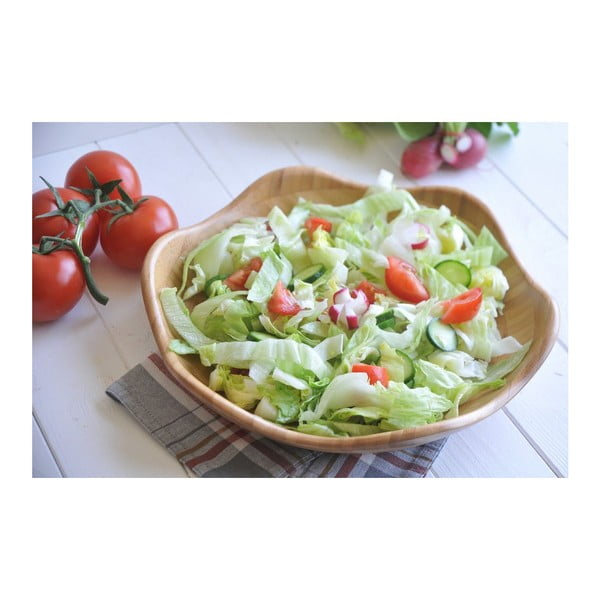Bambusowa miska Salvador Salad, 30 cm