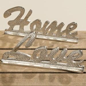 Zestaw 2 napisów dekoracyjnych Boltze Home and Love