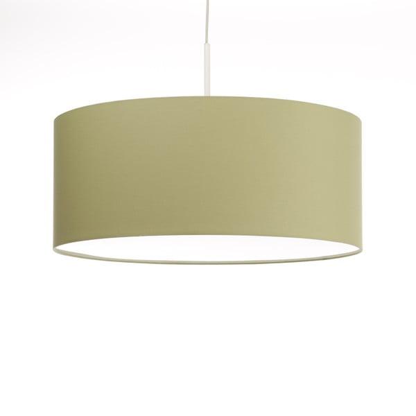 Zielona lampa wisząca Artist, zmienna długość, Ø 60 cm