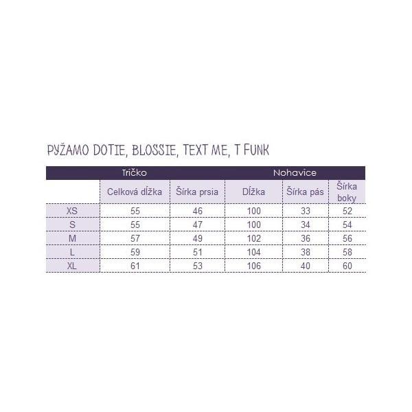 Piżama Text Me, M