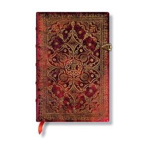 Notes w twardej oprawie Paperblanks Carmine, 9,5x14cm