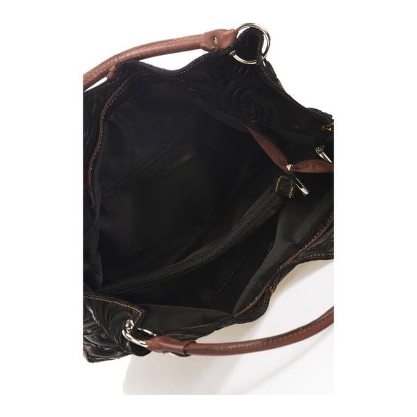 Czarna torebka skórzana Giorgio Costa Terst