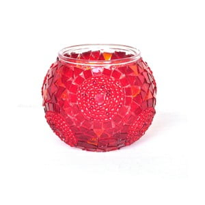 Szklany świecznik Oriental VII