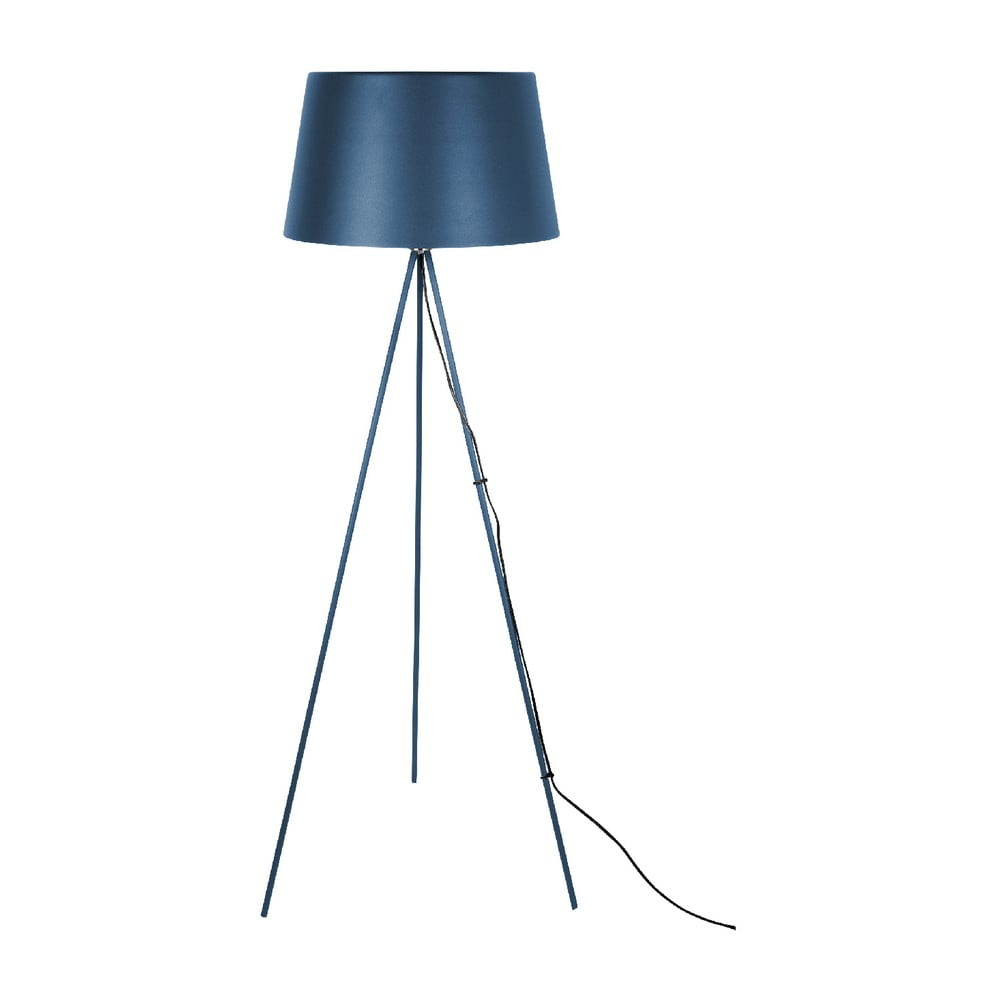 Ciemnoniebieska lampa stojąca Leitmotiv Classy